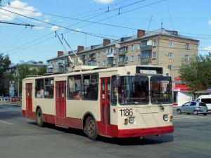 Движение троллейбусов закрыли по улице Свободы