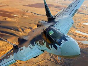 Запредельный уровень пилотажа Су-57 на видео восхитил пользователей Сети (видео)