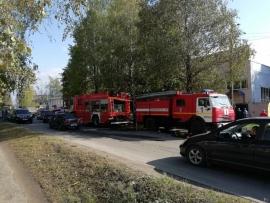 В Брянске потушили серьезный пожар