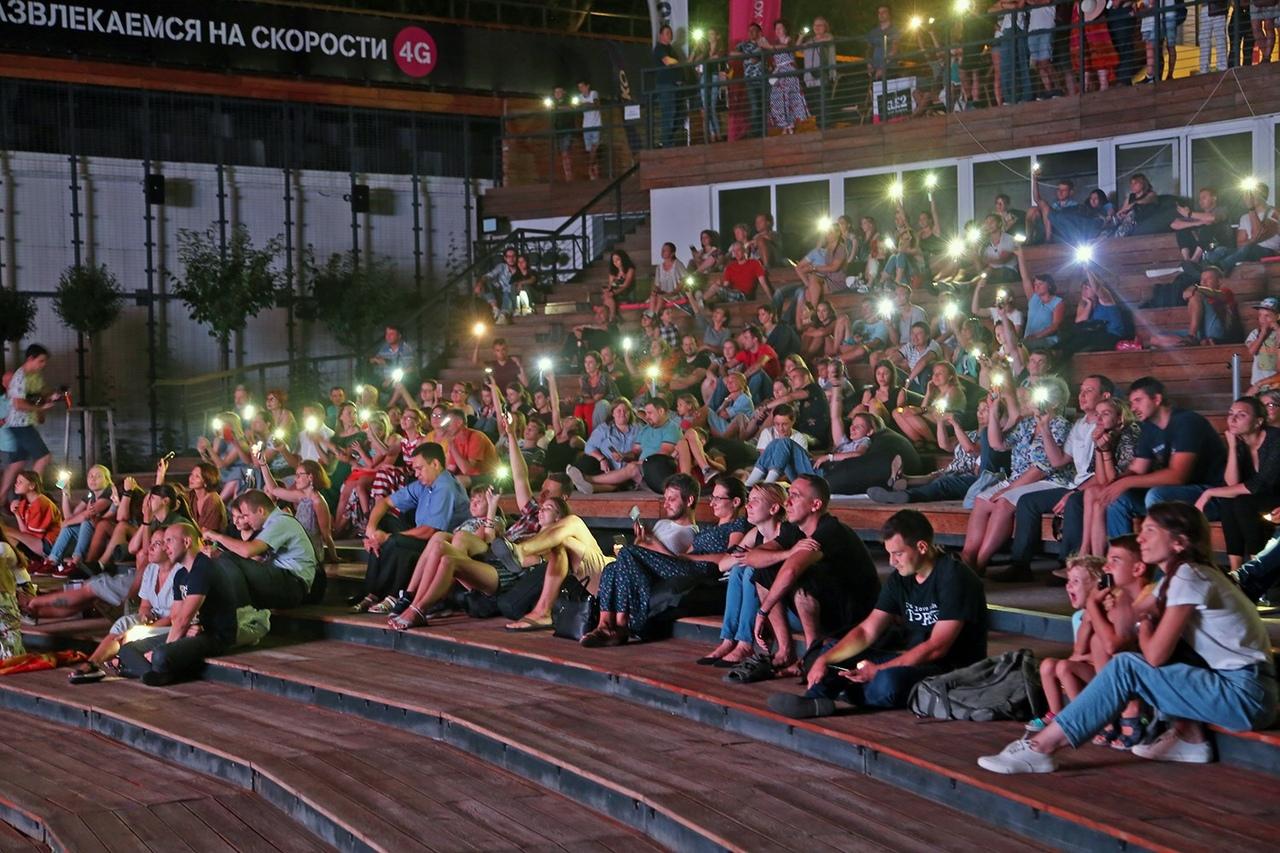 В Брянской области фестиваль уличного кино охватил 15 площадок