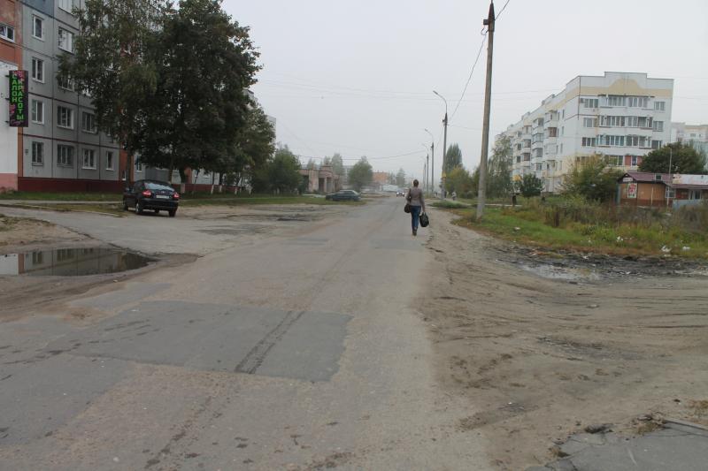 Брянские дети вынуждены ходить в школу по проезжей части