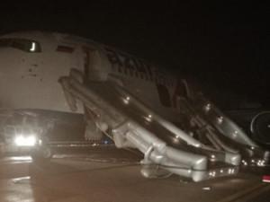 Boeing горел при посадке. 23 пассажира пострадали в Барнауле