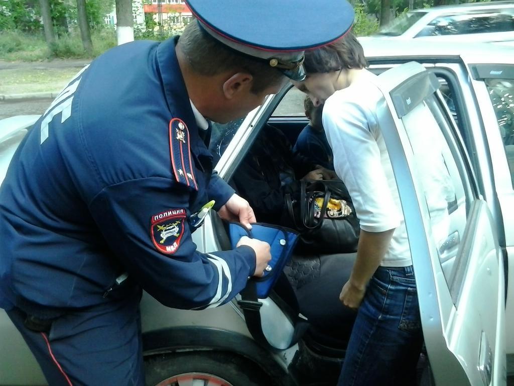 В пятницу 13-ое в Брянске ГИБДД устроили День безопасности