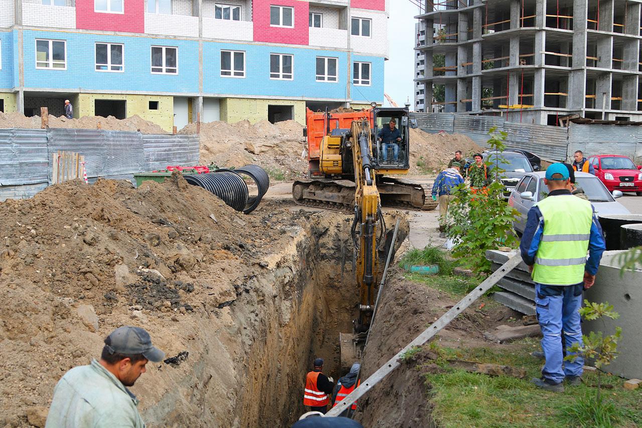 1,5 км ливневки проложат на переулке Пилотов в Брянске