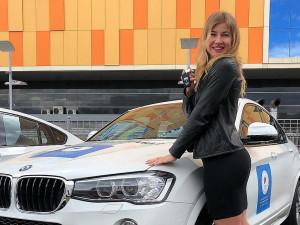 Челябинская конькобежка Фаткулина продаёт «путинский» BMW за 3,5 миллиона. В Кремле отреагировали