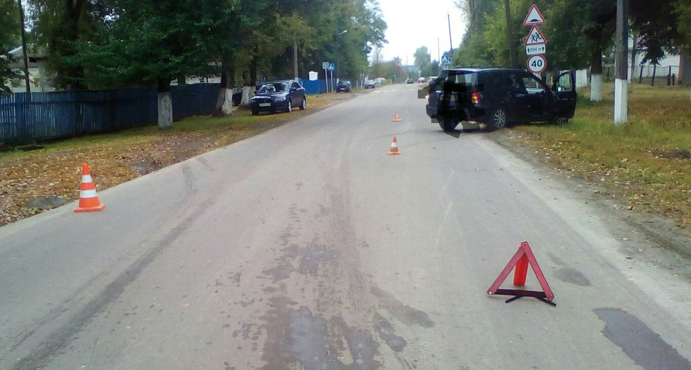 В поселке Локоть автомобиль насмерть сбил велосипедистку