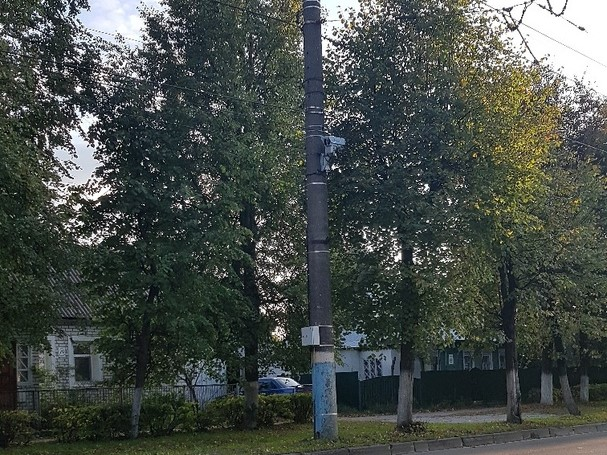 На Ульянова в Брянске установили дорожную камеру