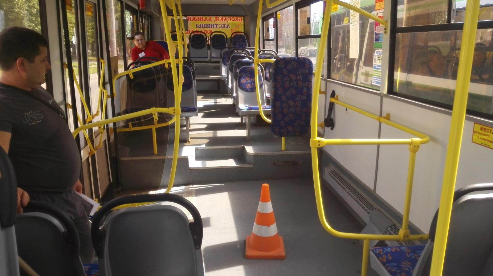 В Брянске ушибла голову пассажирка автобуса