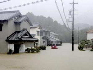 56 человек погибло в Японии. Виноват тайфун «Хагибис»