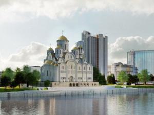 97 472 жителя Екатеринбурга выбрали место под строительство храма Святой Екатерины