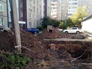 Земляных работ зимой в Челябинске больше не будет