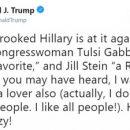Дональд Трамп сознался в любви к русским и заявил, что Хиллари Клинтон сошла с ума