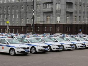 169 новых патрульных машин получила полиция Челябинска
