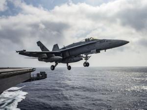 Последний полёт совершил палубный истребитель F/A-18 Hornet
