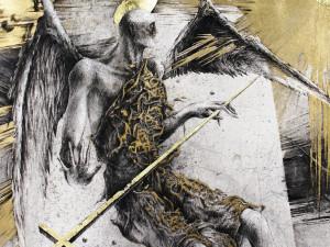 Ангелы и демоны композитора Леры Ауэрбах и скульптора Андрея Старцева. Оба – с Урала