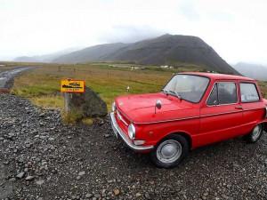 Лихие челябинцы проехали всю Исландию на «Запорожце»