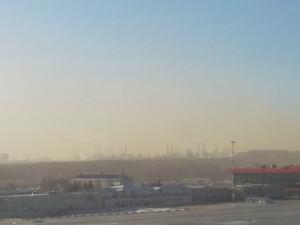 Улица Героев Танкограда оказалась в дыму