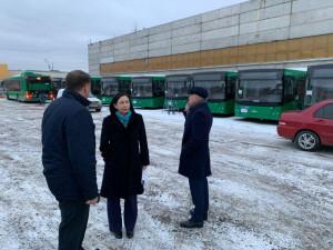 33 новых автобуса начнут возить челябинцев в ноябре