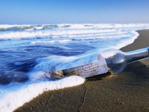 Записка в бутылке пересекла Атлантику за девять лет