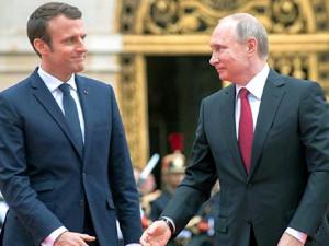 Эмманюэль Макрон хочет тщательно изучить предложение Владимира Путина о ракетах