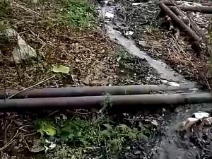 Почти неделю в Златоусте существовала «река нечистот»