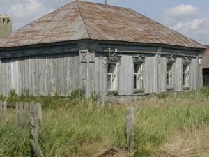 Слепой пенсионер построил сам дом под Рязанью