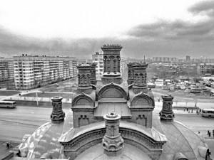 Церковь еще без куполов, цирка «на месте» тоже нет. Уникальный вид на Челябинск