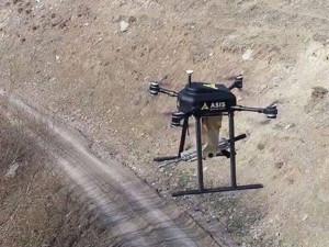 Беспилотник с пулеметом будет сопровождать конвои (видео)