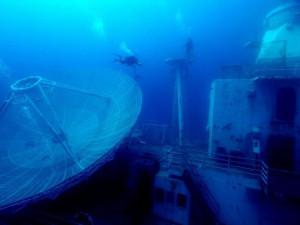 В завораживающий видеотур можно отправиться к затонувшим кораблям (видео)