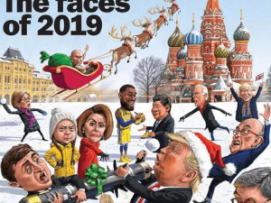 На Красную площадь поместил «Лица года» журнал The Week
