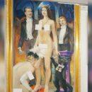 ЧП «культурного масштаба»: обнажённых женщин на картинах прикрыли стикерами на выставке в Екатеринбурге