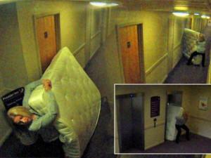В отелях класса люкс чаще воруют матрасы