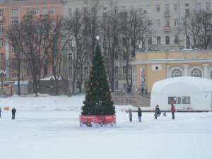 В Москве обещают туман и гололедицу