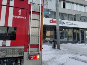 Эвакуировали людей из гостиницы «Малахит» в Челябинске