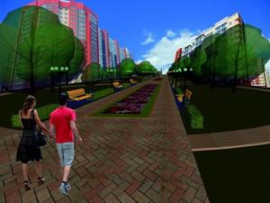 Будет ли сквер на улице 40 лет Победы в Челябинске?