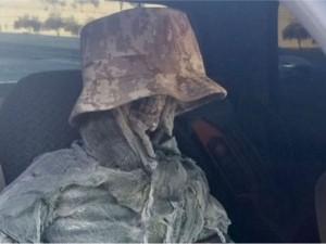 Скелет в машине возил мужчина, чтобы пользоваться полосой для авто с пассажирами