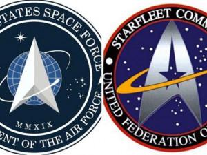 Космические силы США получили эмблему, похожую на логотип Star Trek
