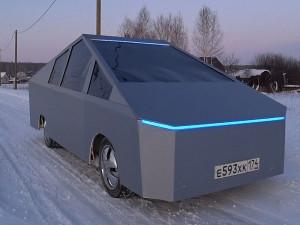 Суровый челябинец превратил ВАЗ в электромобиль. Хватило 11 тысяч рублей