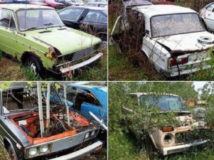 Кладбище моделей «АвтоВАЗа» обнаружено в Канаде