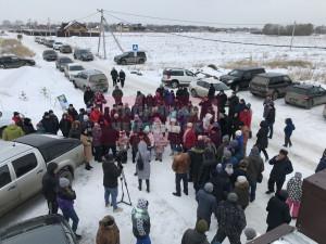Бойкот продукции «Равис» объявили жители поселка «Журавли»
