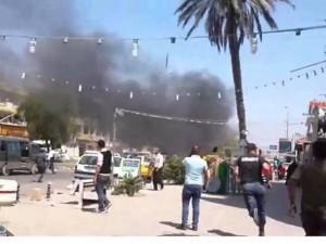 Ракета взорвалась возле посольства США в Багдаде
