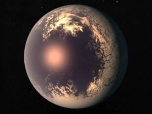 Жуткие планеты выглядят как глазное яблоко