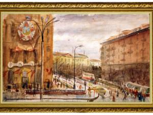 Что было написано на памятной доске о маршале Коневе в Праге
