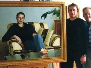 Харатьян, Сличенко, Николаев. Российские звезды в домашней обстановке