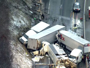 Страшная авария на скоростной магистрали привела к гибели людей