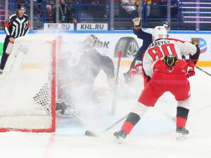 Магнитогорский «Металлург» с трудом удержал победу в игре с «Автомобилистом»