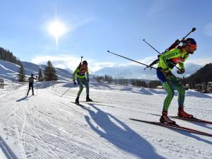 Полиция проводит обыски в номерах российских биатлонистов в Италии