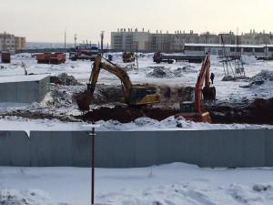 30-метровый бассейн строят в поселке «Привилегия» близ Челябинска