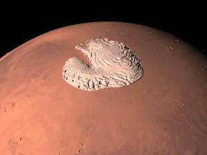 Давняя загадка марсианского Южного полюса близка к решению (видео)