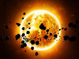 Солнце перед гибелью сотрет астероиды в пыль